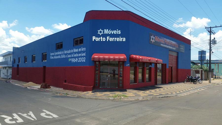 Nossa Fábrica - Móveis Porto Ferreira
