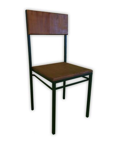 Cadeira Ferro Madeira